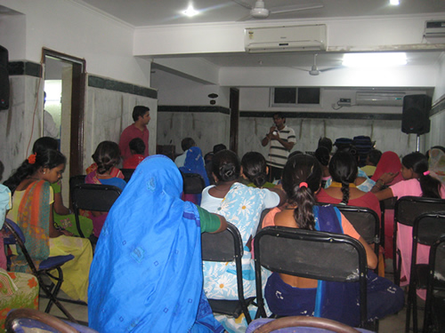 Nandlal Kids Parents meeting on vitamin project   Passion